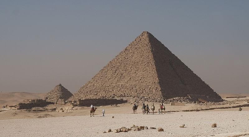 Pyramid of Menkaure (Mykerinus Pyramid)