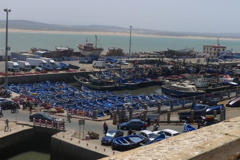 The Harbor of Essaouira