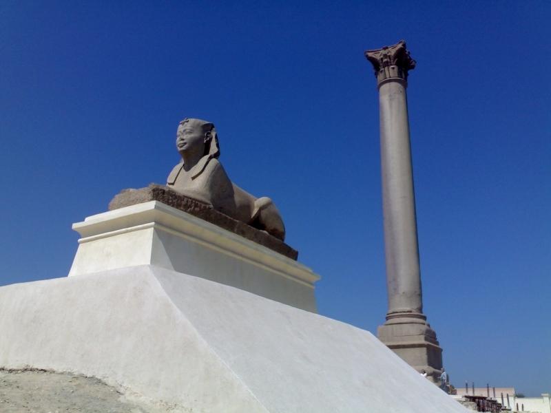 Pompey's Pillar, Alexandria