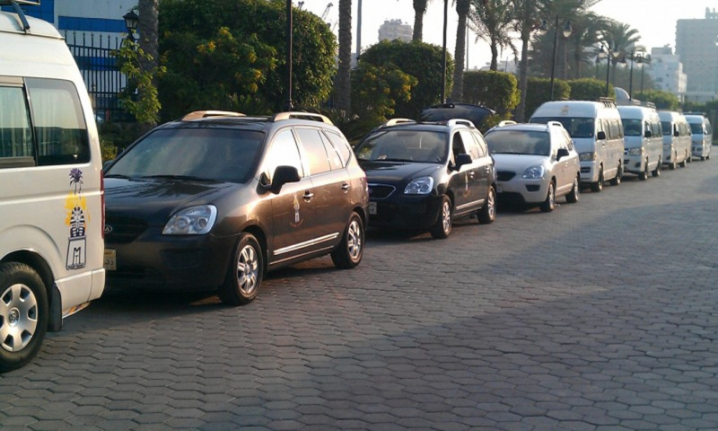 Memphis Vans at Sharm El Sheikh Airport