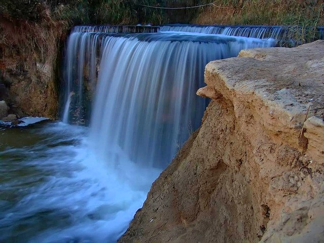 Wadi Rayan In El Fayoum Oasis Wadi Elrayan Waterfalls