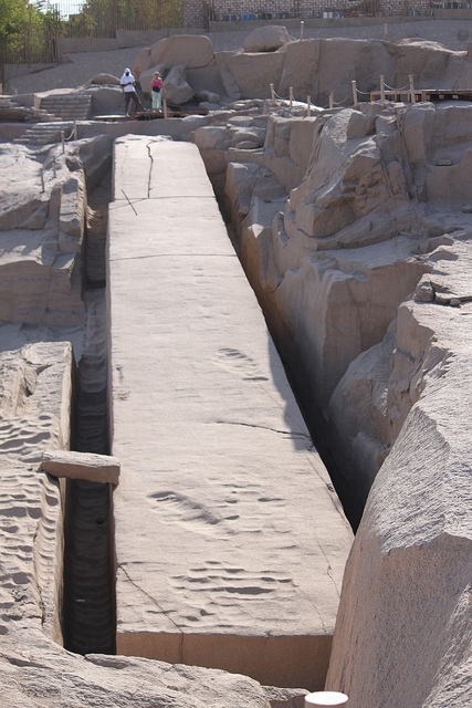Unfinished Obelisk at the Granite Quarries