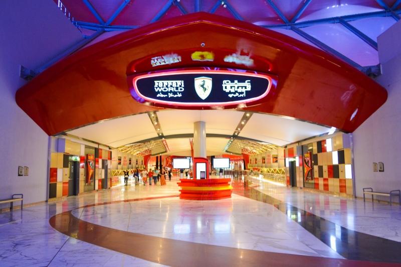 Parco di Ferrari World, Isola di Yas