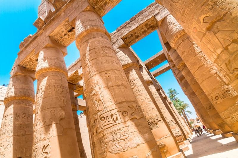 El Templo de Karnak.