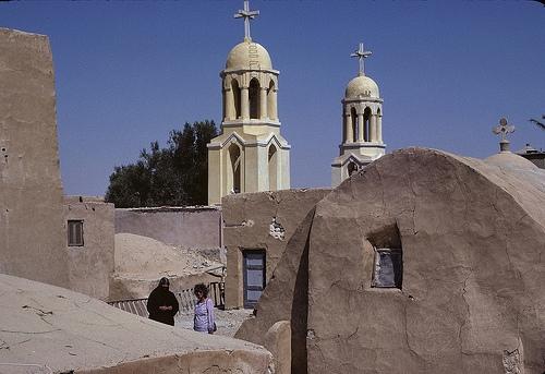 The Monastery of  Baramus   Egypt