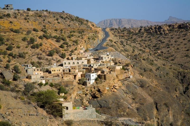 beautiful villages in Jabal Akhadar