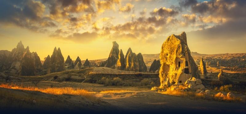 Cappadocia at Sunset, Turkey