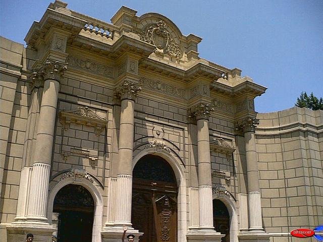 Gate of Abdeen Palace, Cairo