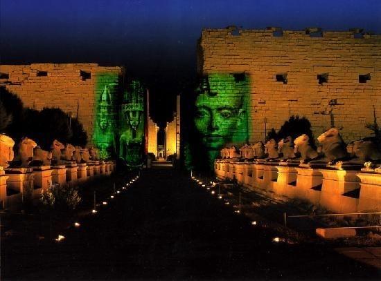 Show de Luz e som em Karnak