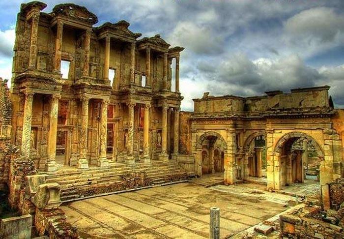 Visite d'Ephèse et Temple d'Artémis