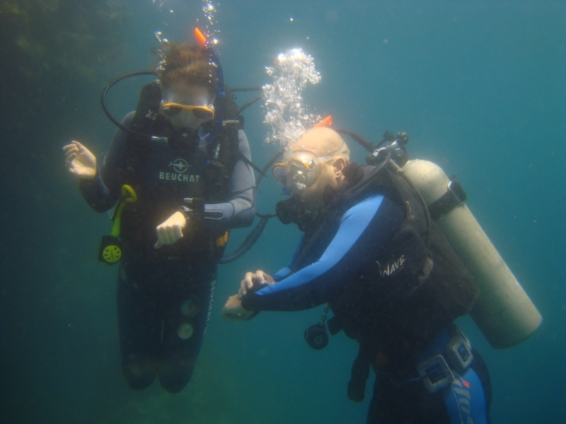 Diving at Ras Mohammed
