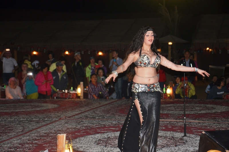 Belly Dancer in Dubai Desert