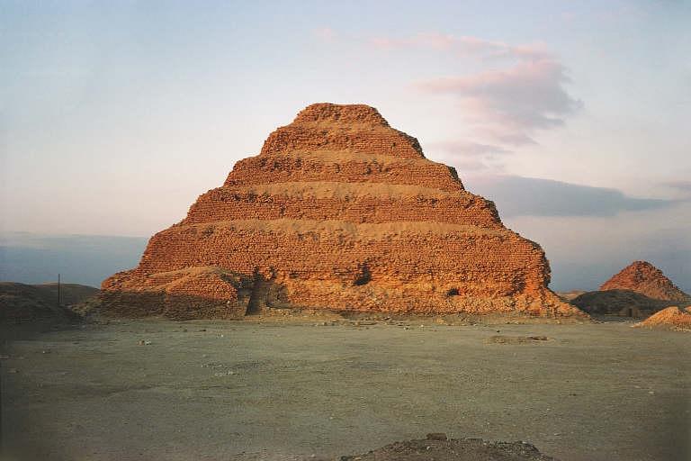Pirâmide de degraus, Egito