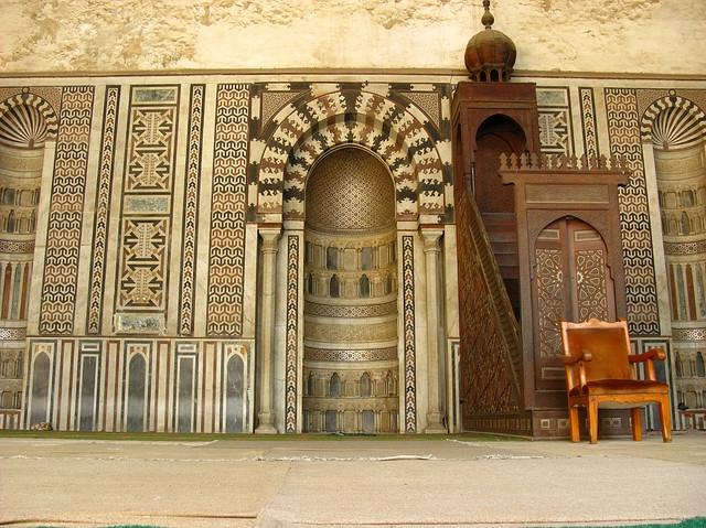 Al Mansur Qalawun Mosque Interior