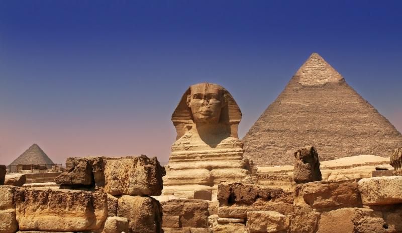 Esfinge - Giza - Egito