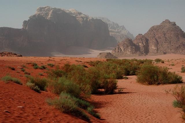 Wadi Rum della Giordania