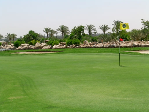 Golf in Luxor Egypt