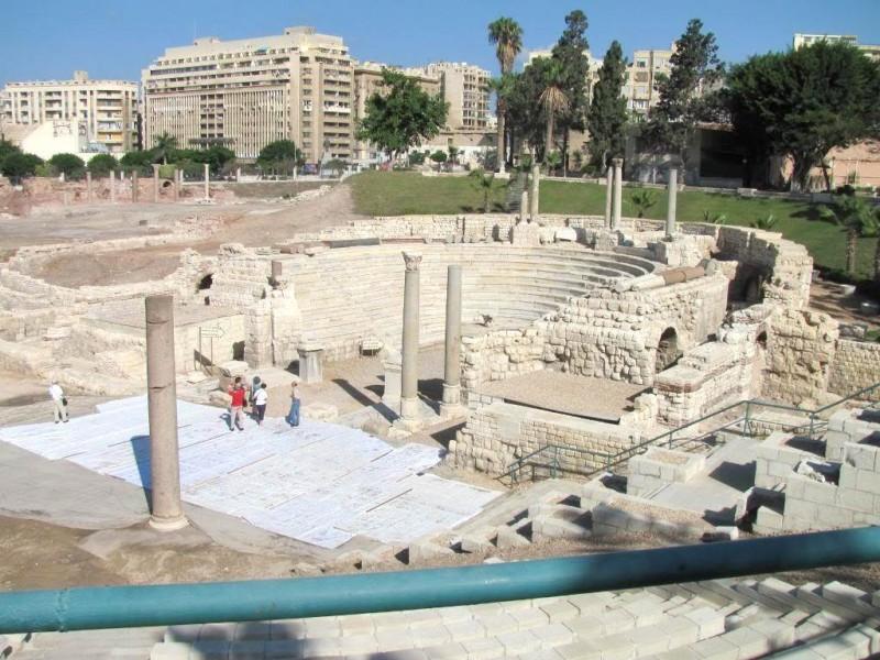 Roman Amphitheater in Alexandria