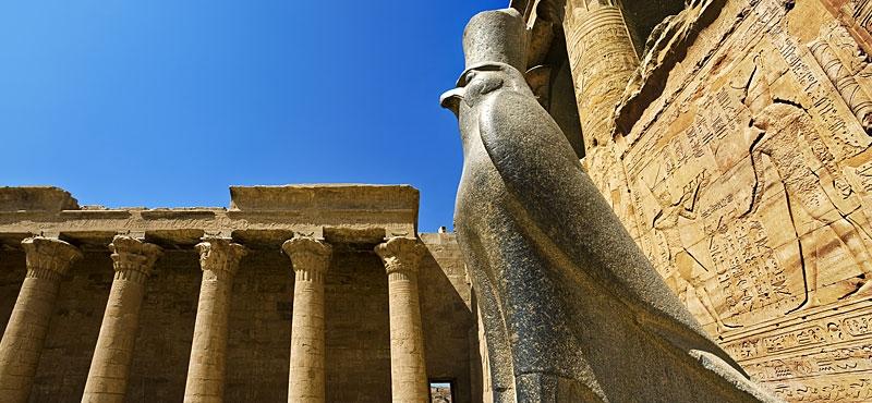 Tempio di Edfu Dedicato a Horus