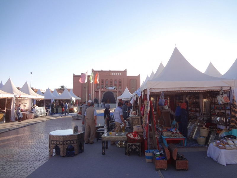 Souks in Ouarzazate