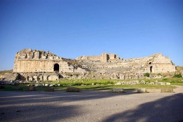 Miletus Historic Site of Turkey