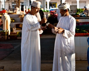 Ibra Wednesday Market in Oman