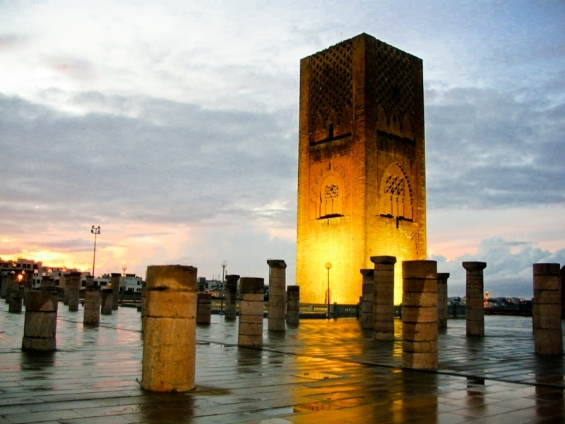 The Hassan Tower, Rabat