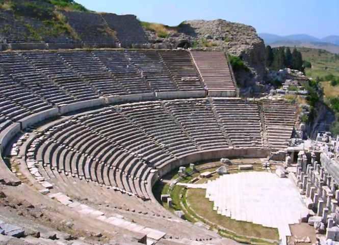 Cité antique d'Éphèsen Cappadoce