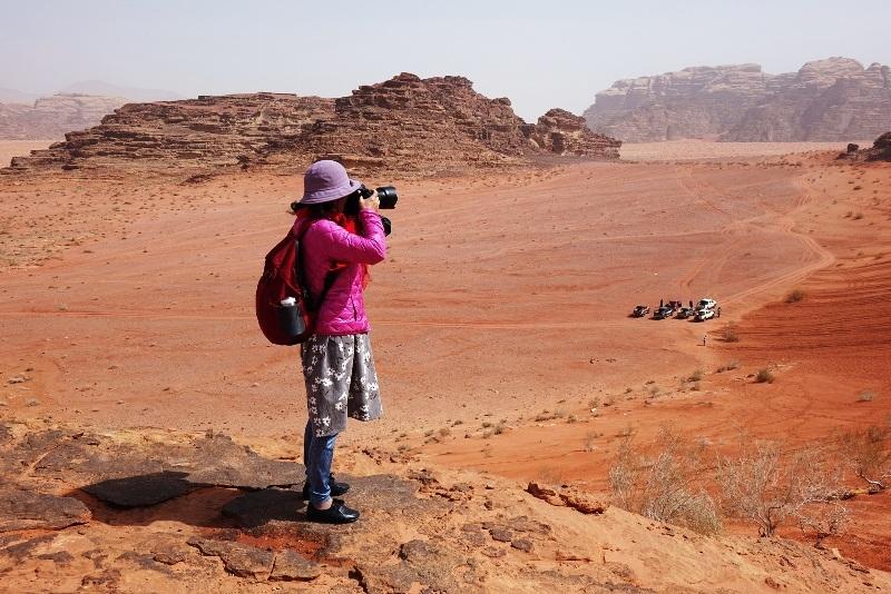 Wadi Rum Landscape.