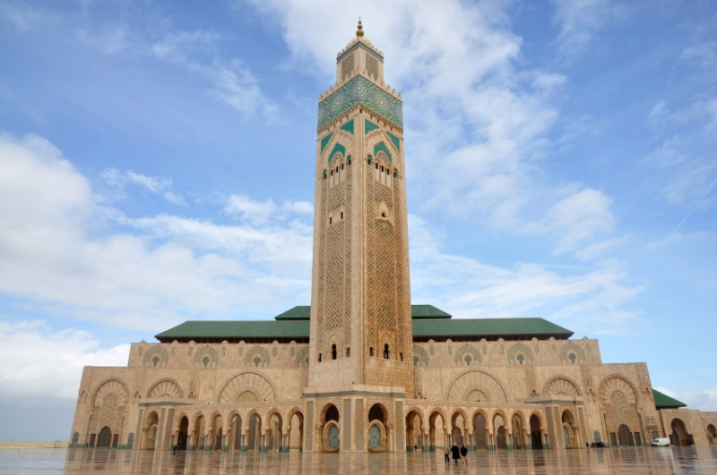 La Mezquita Hassan II, Casablanca