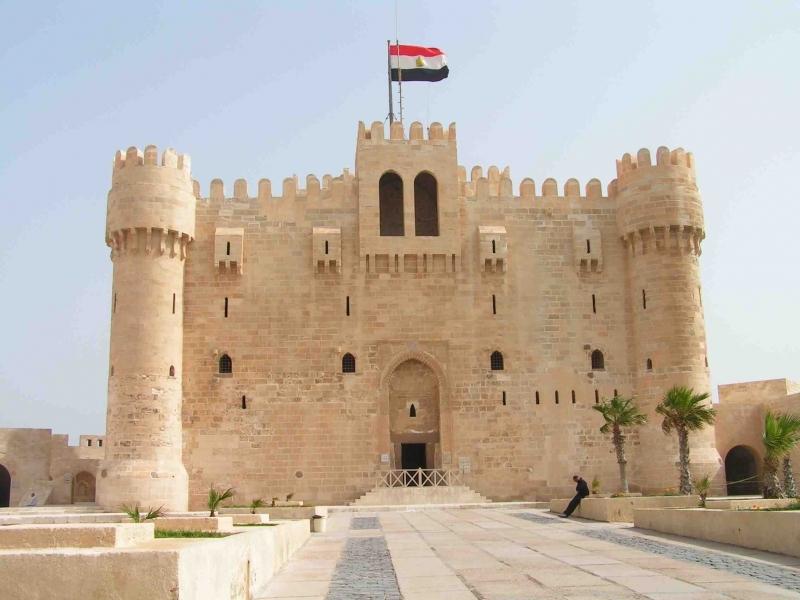 Cidadela de Qaitbay em Alexandria | Forte Qaitbay-Egito