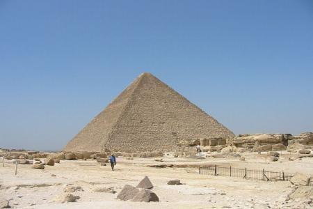 La Piramide di Cheope, Giza