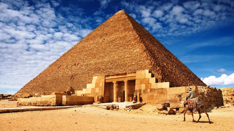 A Grande Pirâmide de Khufu - Queóps