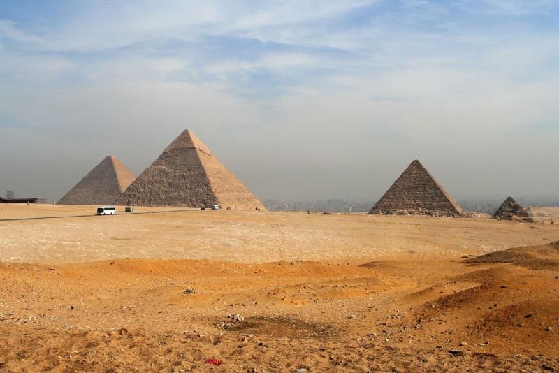 Pirâmides de Giza - Egito