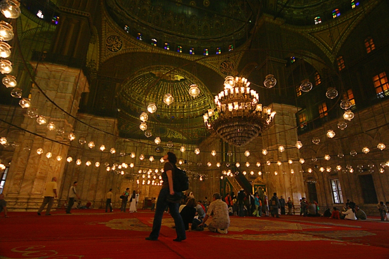 Alabaster Mosque in Cairo
