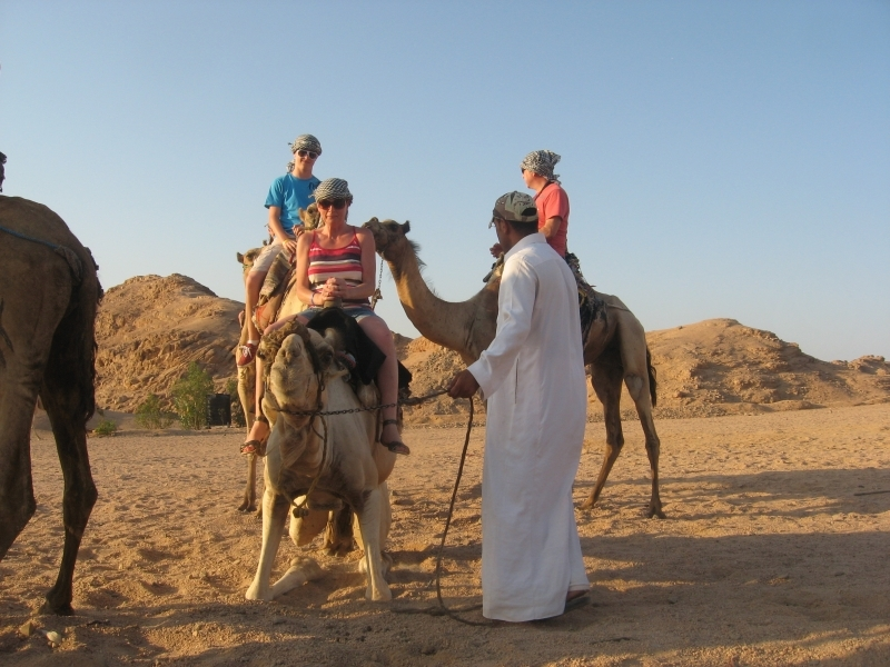 Camel riding Trip in Sharm Desert
