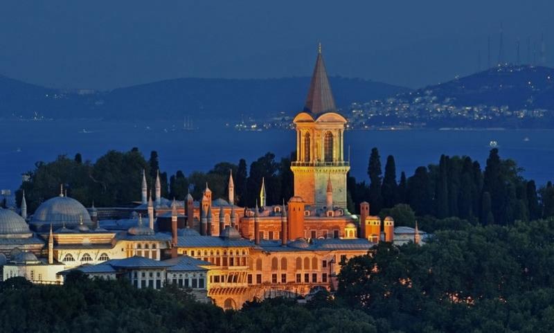 EL Palacio de Topkapi, Turquía.