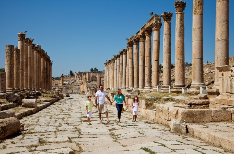 Colonnaded Street Jerash