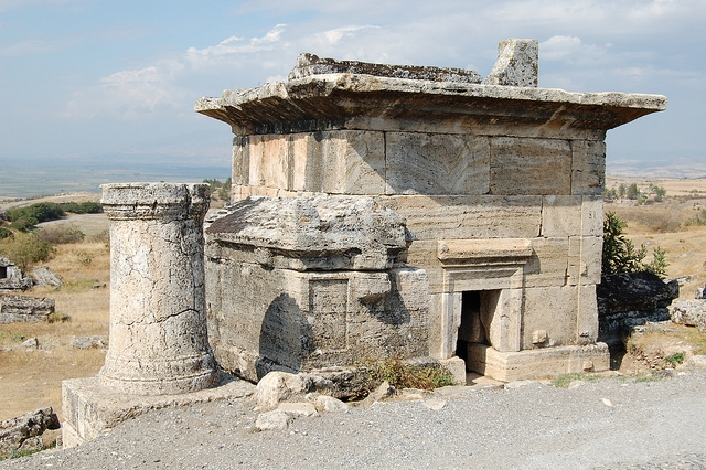 Pamukkale (Hierapolis) in Turkey