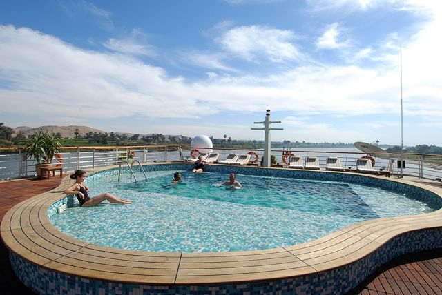 Amarco Nile Cruise Swimming Pool