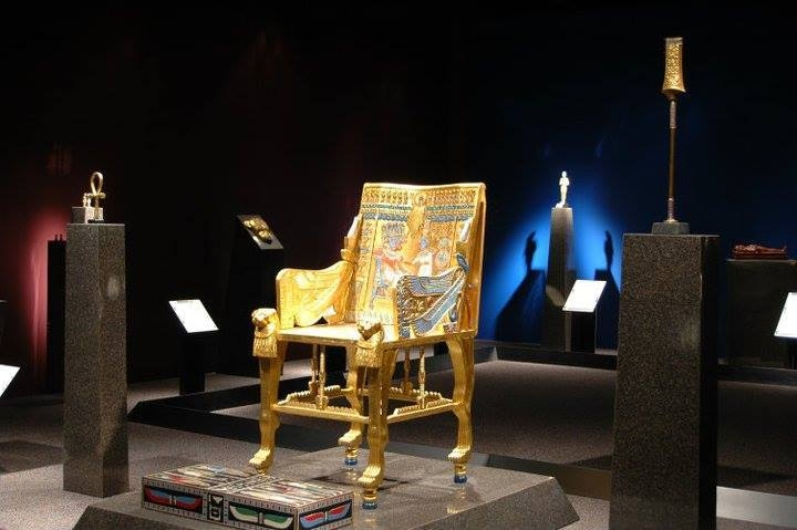 Tutankhamun Treasure in the Egyptian Museum, Cairo
