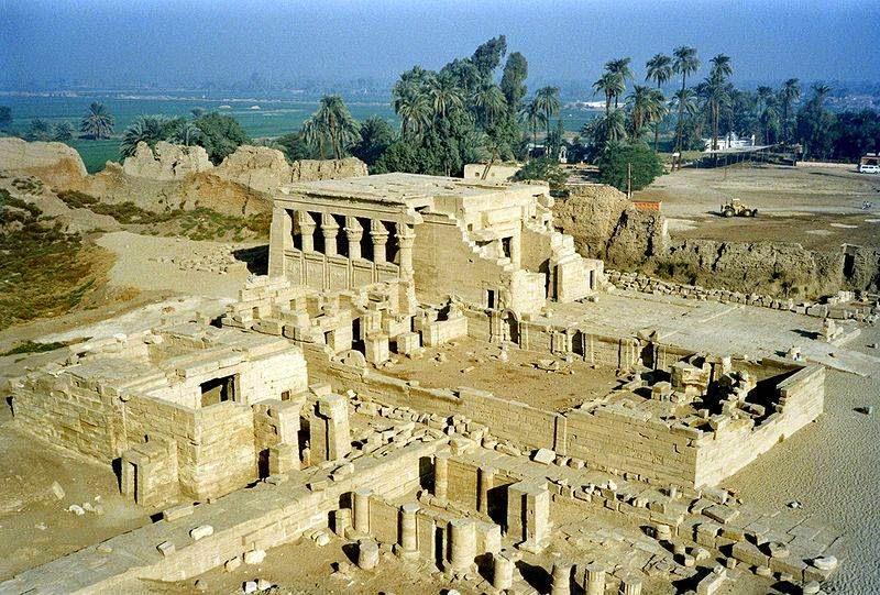 Der Hathor Tempel