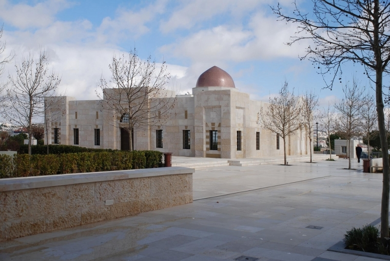 Mosque of King Hussein in Amman