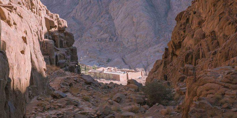 El Monasterio de Santa Catalina del Sinaí