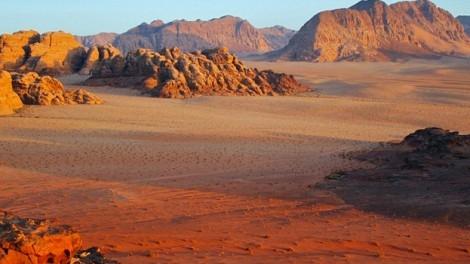 Panoramic View of Wadi Rum