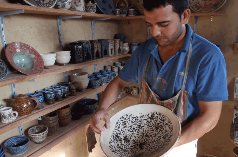 Pottery Shops in Tunis Village Fayoum