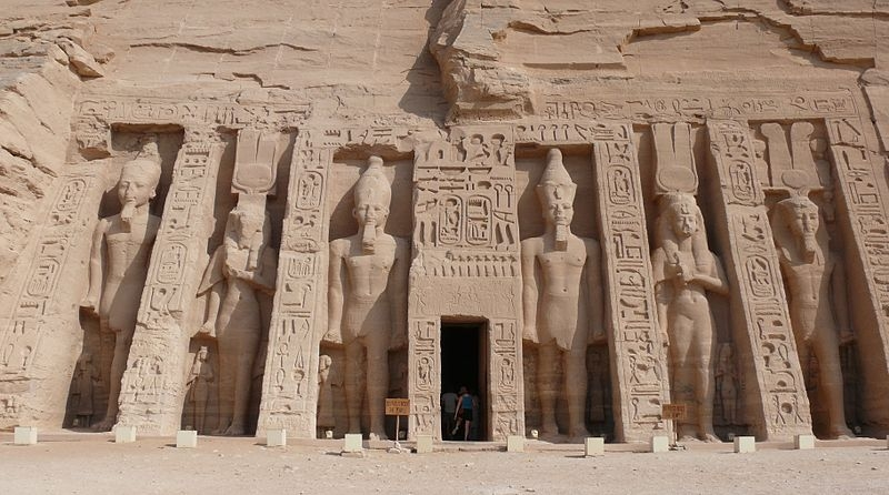 The Small Temple of Nefertari at Abu Simbel