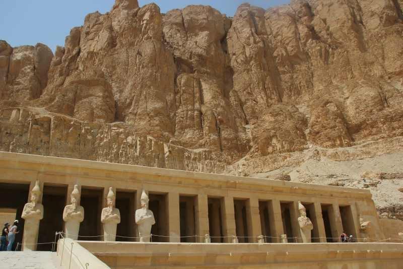 Temple d'Hatchepsout à deir el Bahari