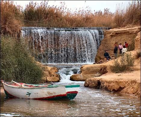 Wadi Rayan in El Fayoum Oasis