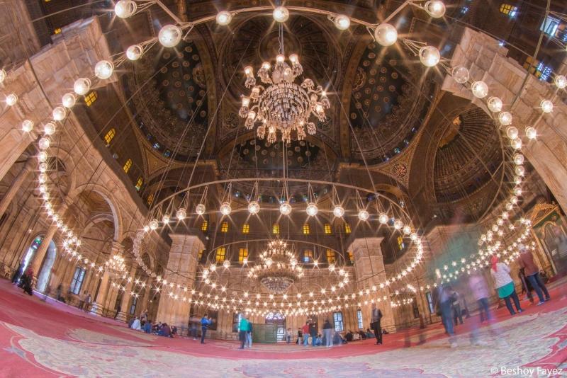 La mezquita de alabastro de Muhammad Ali en El Cairo